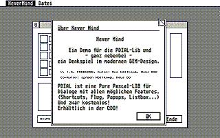 Screenshot of Nevermind