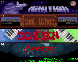 Screenshot of Pinball Dreams