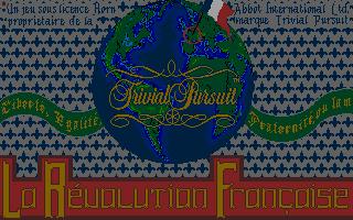 Screenshot of Trivial Pursuit - La Révolution Française