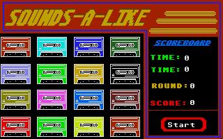 Screenshot of Sounds-A-Like