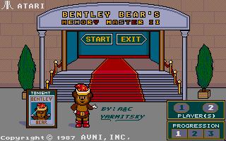 Thumbnail of other screenshot of Bentley Bear's Memory Master II