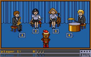 Screenshot of Bentley Bear's Memory Master II