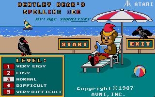 Thumbnail of other screenshot of Bentley Bear's Spelling Bee