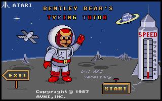 Thumbnail of other screenshot of Bentley Bear's Typing Tutor