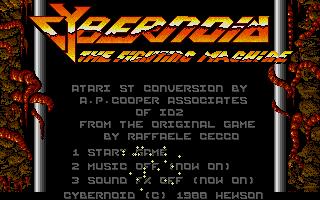 Screenshot of Cybernoid - The Fighting Machine