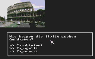 Screenshot of Auf dem Weg nach Europa