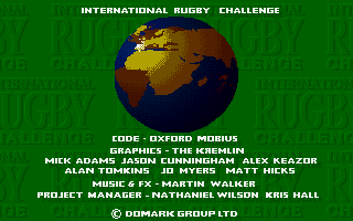 Screenshot of International Rugby Challenge