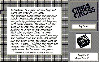 Screenshot of Criss Cross