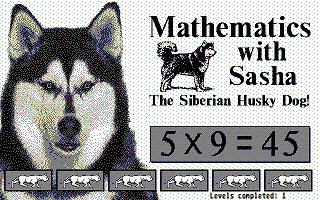 Screenshot of Mathematics with Sasha