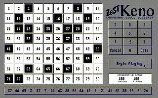 Thumbnail of other screenshot of ZeST Keno