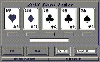 Screenshot of ZeST Poker