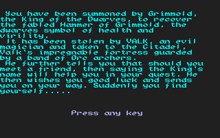 Thumbnail of other screenshot of Hammer of Grimmold, The