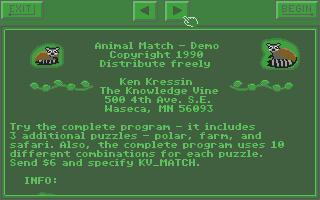 Thumbnail of other screenshot of Animal Match