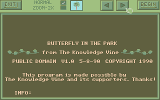 Thumbnail of other screenshot of Butterfly in the Park