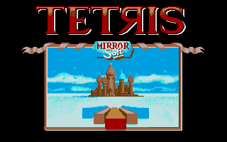 Screenshot of Tetris
