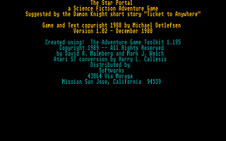 Thumbnail of other screenshot of Star Portal