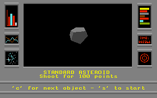 Thumbnail of other screenshot of 3D Asteroids