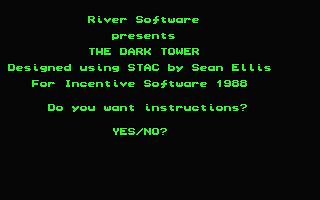 Screenshot of Dark Tower, The