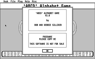 Thumbnail of other screenshot of 'ABCD' Alphabet Game