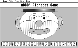 Screenshot of 'ABCD' Alphabet Game