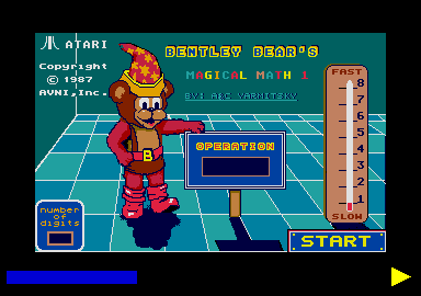 Screenshot of Bentley Bears Magical Math 1