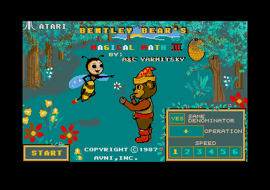 Thumbnail of other screenshot of Bentley Bears Magical Math 3