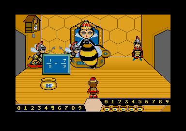 Screenshot of Bentley Bears Magical Math 3