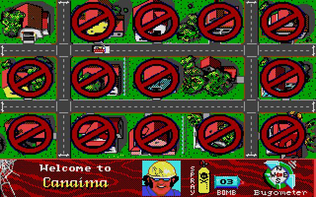 Screenshot of Arachnophobia