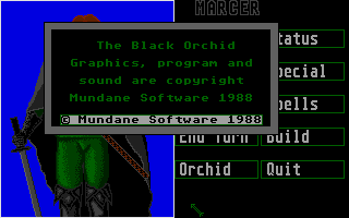 Thumbnail of other screenshot of Black Orchid, The