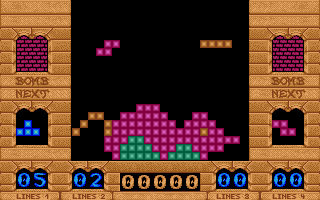 Thumbnail of other screenshot of Tetris II - Strikes Back