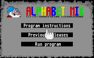 Thumbnail of other screenshot of Alphabet Mix