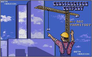 Screenshot of Construction Company