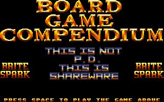 Screenshot of Board Game Compendium