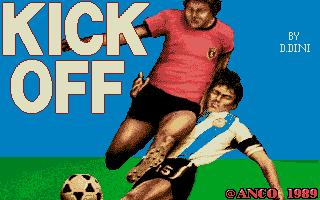 Screenshot of Kick Off