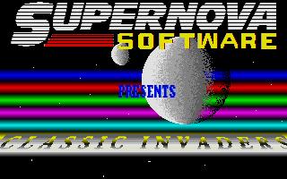 Screenshot of Classic Invaders