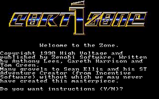 Screenshot of Cortizone