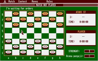 Screenshot of Dames