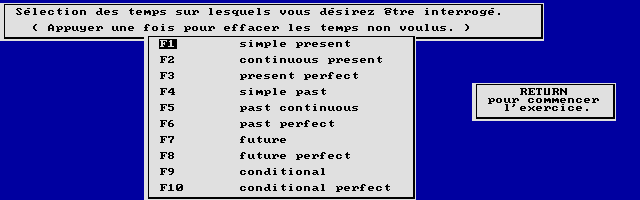 Thumbnail of other screenshot of Didact English / La Concordance Des Temps (Collège)