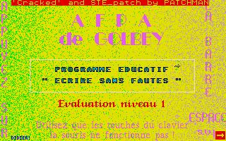 Thumbnail of other screenshot of Ecrire Sans Fautes - Evaluation Niveau 1