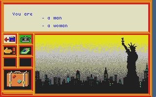 Screenshot of Enquete Aux USA
