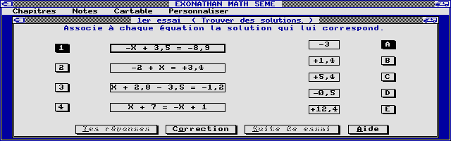 Thumbnail of other screenshot of Exonathan Maths 5e