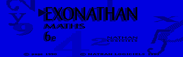 Thumbnail of other screenshot of Exonathan Maths 6e