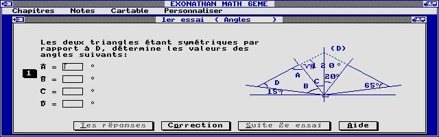 Screenshot of Exonathan Maths 6e