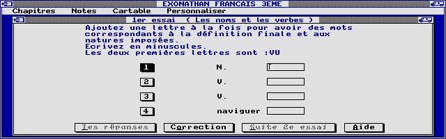 Screenshot of Exonathan Français 3e