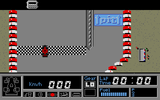 Screenshot of F1 GP Circuits