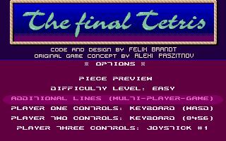 Thumbnail of other screenshot of Final Tetris