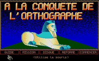 Screenshot of Conquête De L'Orthographe, À La - CM1-CM2