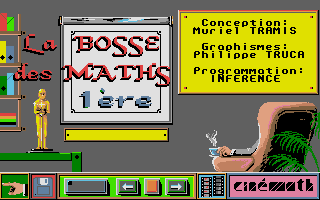 Screenshot of Bosse des Maths 1ere, La