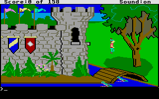 Screenshot of King's Quest - Quest for the Crown