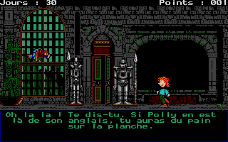 Screenshot of Le Labyrinthe D'Anglomania 1